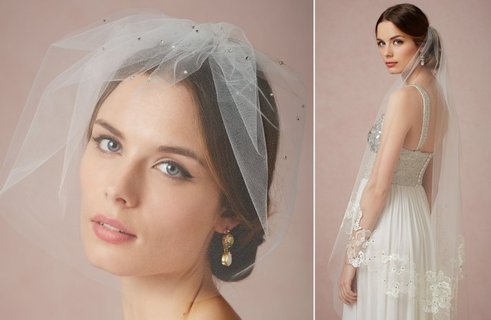 BHLDN wedding veils 2013