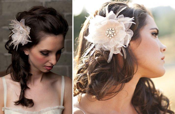 Stunning wedding veils and headpieces by Serephine 4