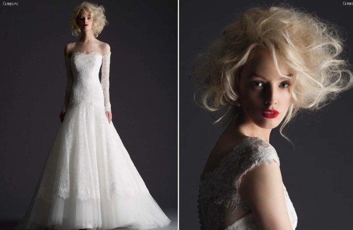 Cymbeline Paris wedding dress 2014 bridal preview lookbook 2