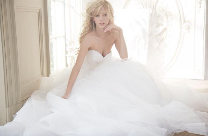 Hayley Paige Bridal Fall 2013 Wedding Dresses 6358
