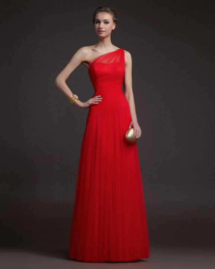 8d523fb1cea Gorgeous 2014 Bridesmaid Dresses from Aire Barcelona red notched sweetheart