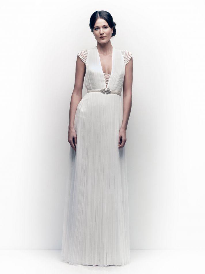 Catherine Deane wedding dress 2013 bridal Ortensia