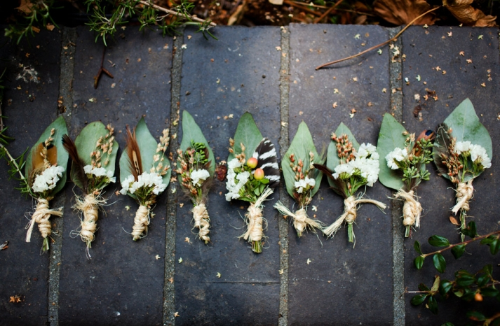 Amazing wedding photography by Shannen Natasha rustic romantic boutonnieres