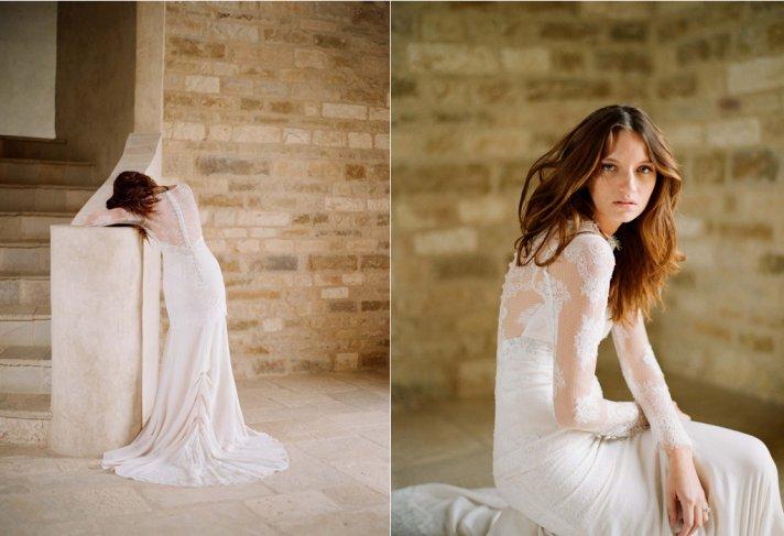 Mademoiselle wedding dress by Claire Pettibone