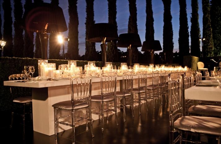 Bel Air wedding inspiration outdoor enchanted reception 1