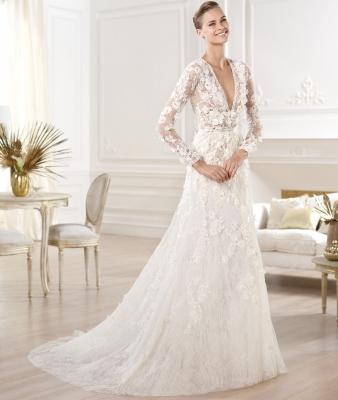 Elie saab designer wedding dresses onewed for Elie saab wedding dress for sale