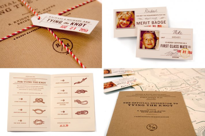 Tie the Knot interactive wedding invitations