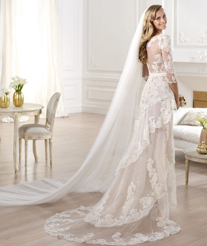 20 favorite wedding gowns from atelier pronovias 2014 onewed for Pronovias wedding dresses uk