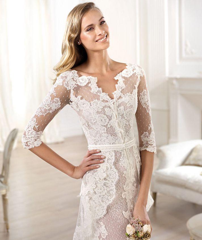 YAELA wedding dress from Pronovias Atelier 2014 Bridal
