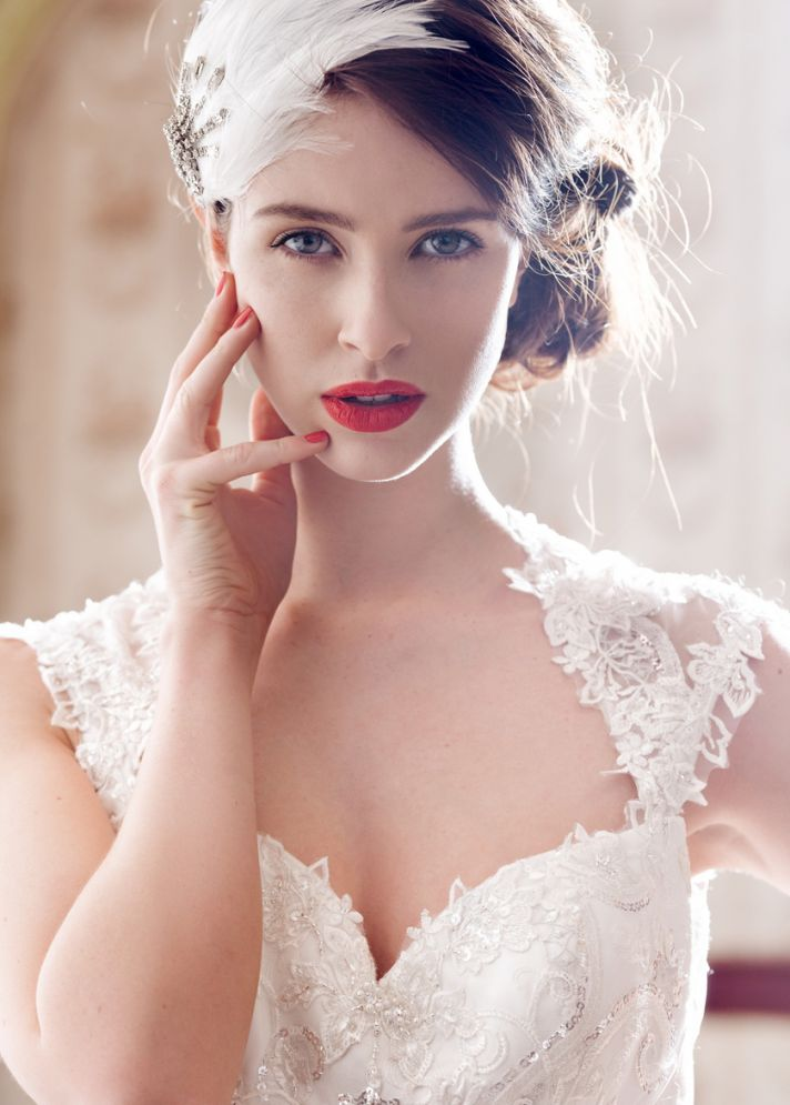 Beaullea wedding dress by Charlotte Balbier 2014 bridal