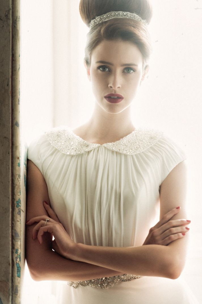 Flora wedding dress by Charlotte Balbier 2014 bridal