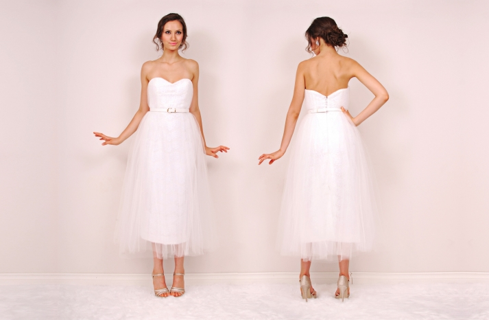 Pearl wedding dress by Sunjin Lee 2014 bridal