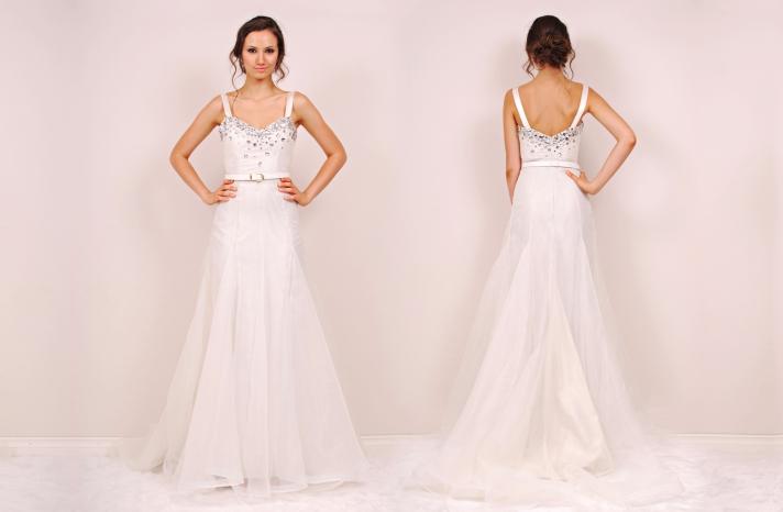 Chrystie wedding dress by Sunjin Lee 2014 bridal