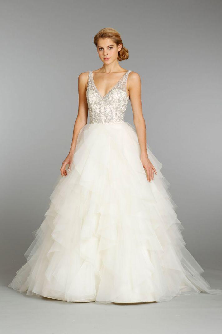 Jim Hjelm wedding dress fall 2013 bridal 8364