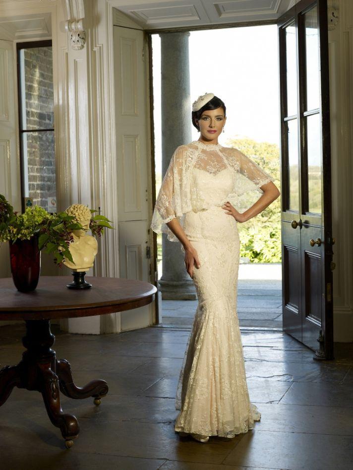 Kathy de Stafford wedding gowns 2013 bridal Shelly