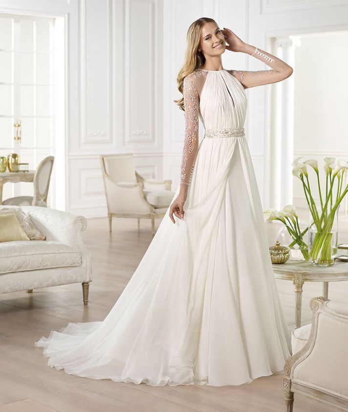 YAJAIDA wedding dress by Atelier Pronovias 2014 bridal