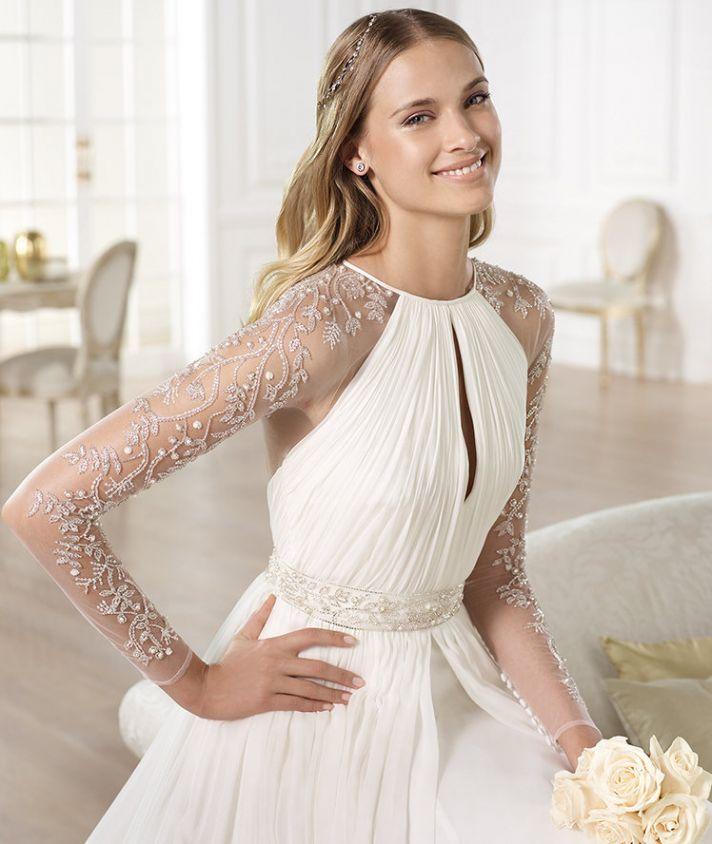 YAJAIDA wedding dress by Atelier Pronovias 2014 bridal