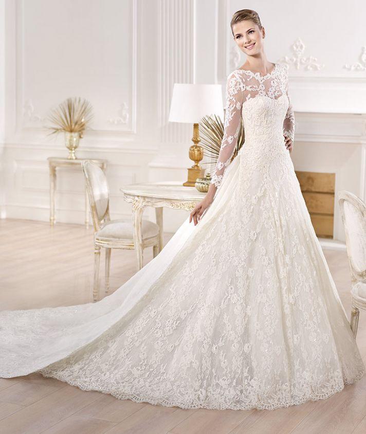 yesuru wedding dress by atelier pronovias 2014 bridal