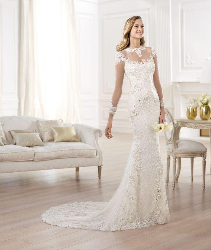 YANIDA wedding dress by Atelier Pronovias 2014 bridal 2
