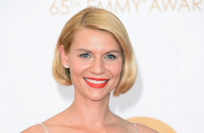 2013 Emmys wedding hair and makeup inspiration Clair Danes