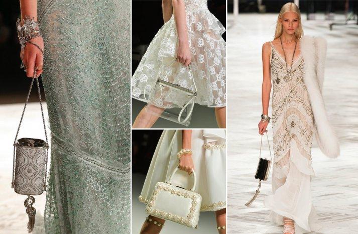 Clutching amazing wedding fashion trend