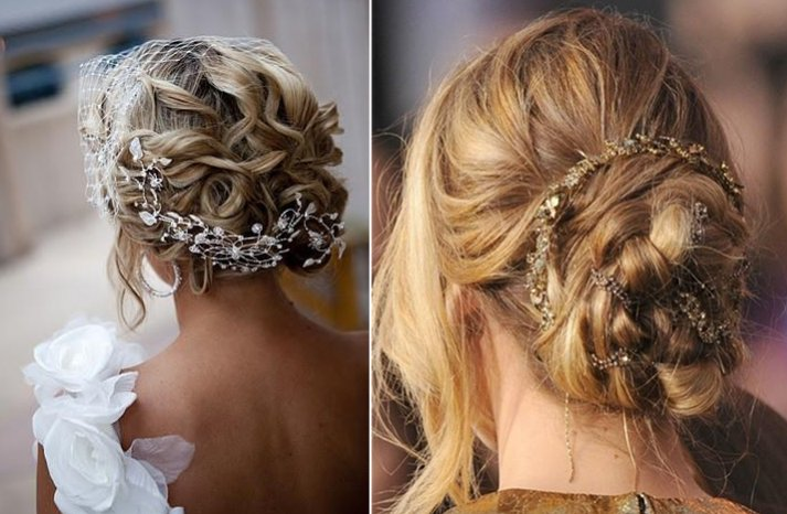 30 Creative And Unique Wedding Hairstyle Ideas: 30 Chic + Unique Wedding Updos