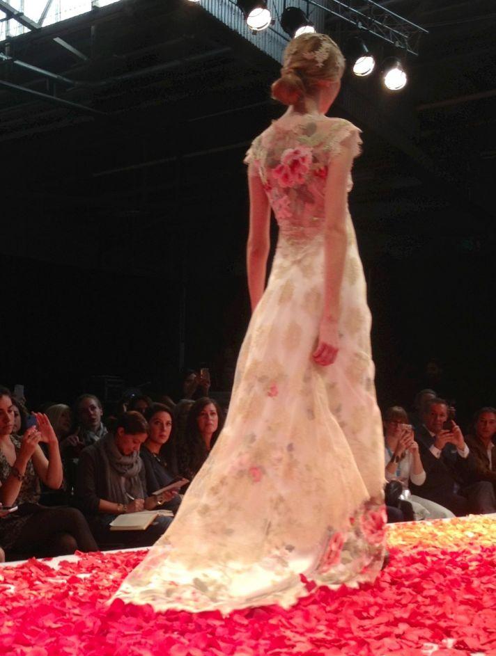 Claire Pettibone bridal runway fall 2014 6