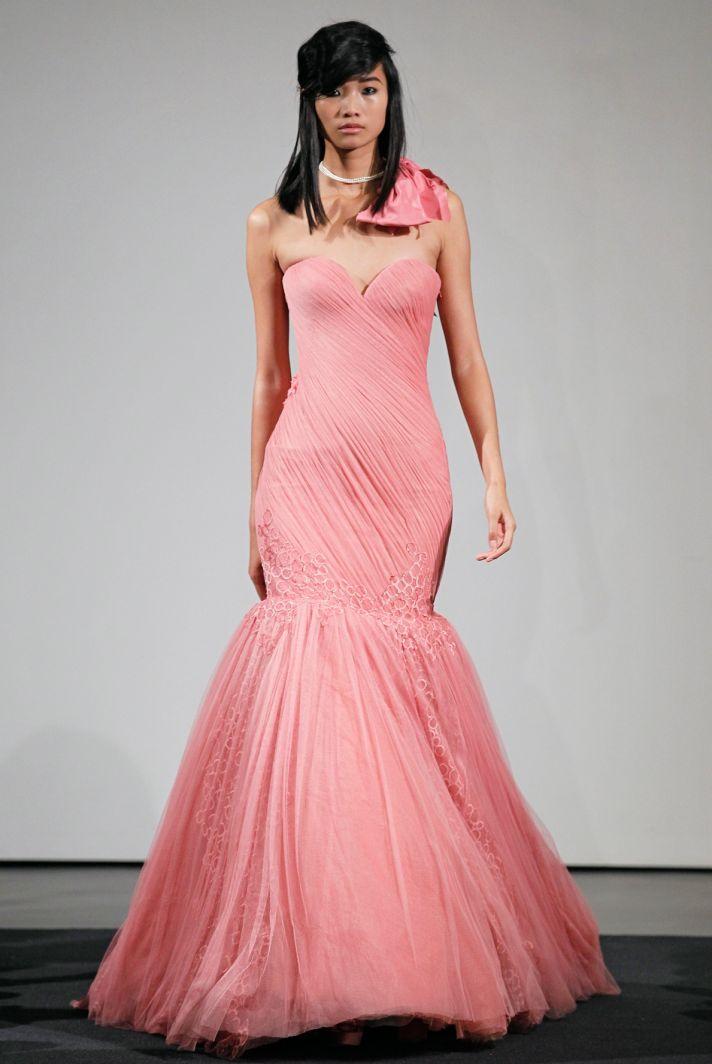 Wedding dress by Vera Wang Fall 2014 bridal collection 5