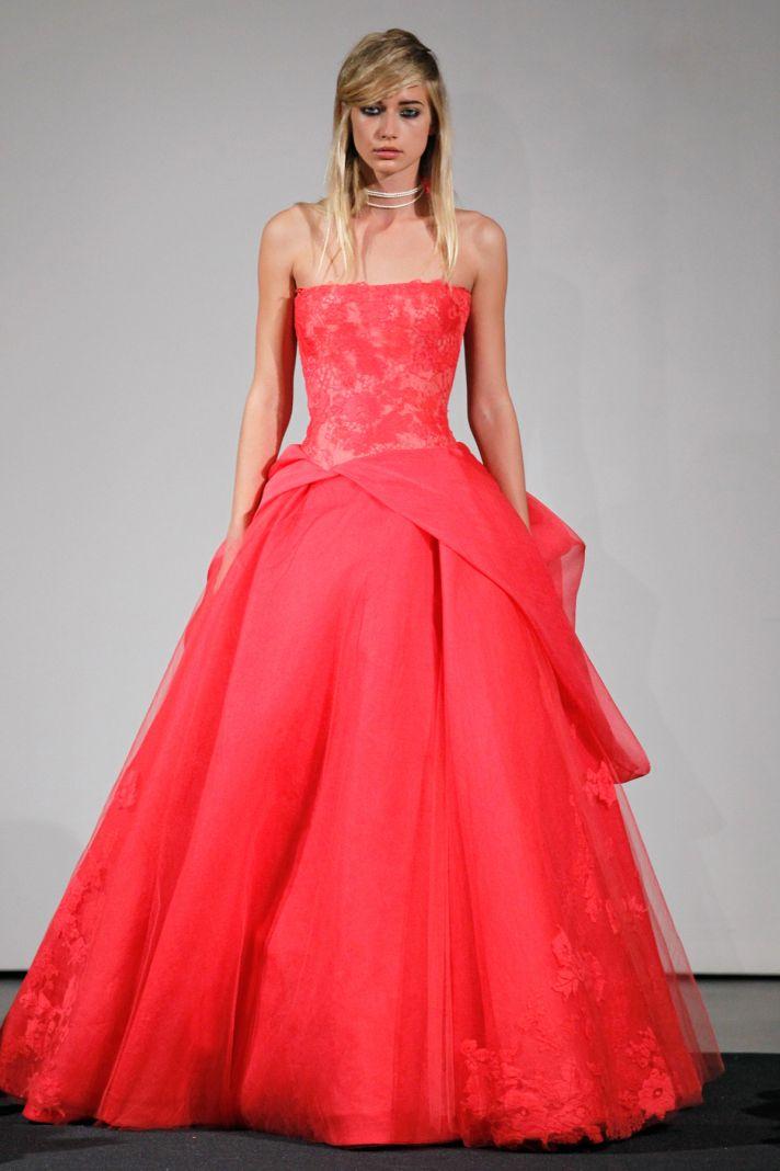 Wedding dress by Vera Wang Fall 2014 bridal collection 10