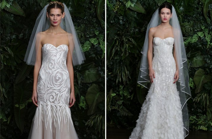New Wedding Dress Collections 2014 Sneak Peek Naeem Khan