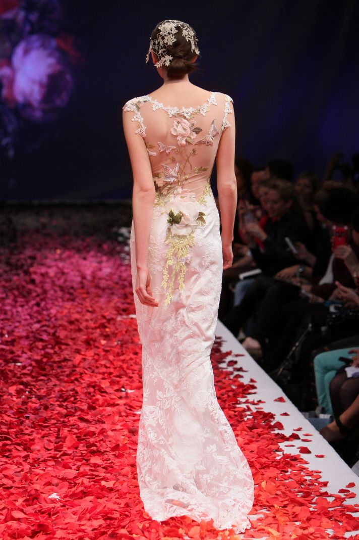 Papillion wedding dress by Claire Pettibone 2014 Still Life bridal collection