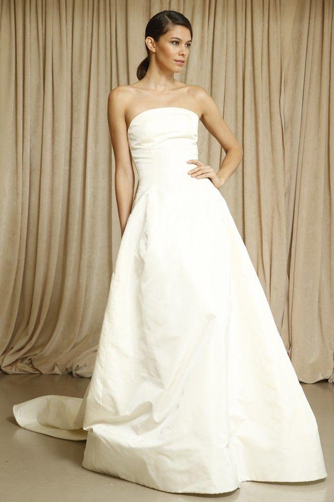 Oscar de la Renta wedding dress Fall 2014 9