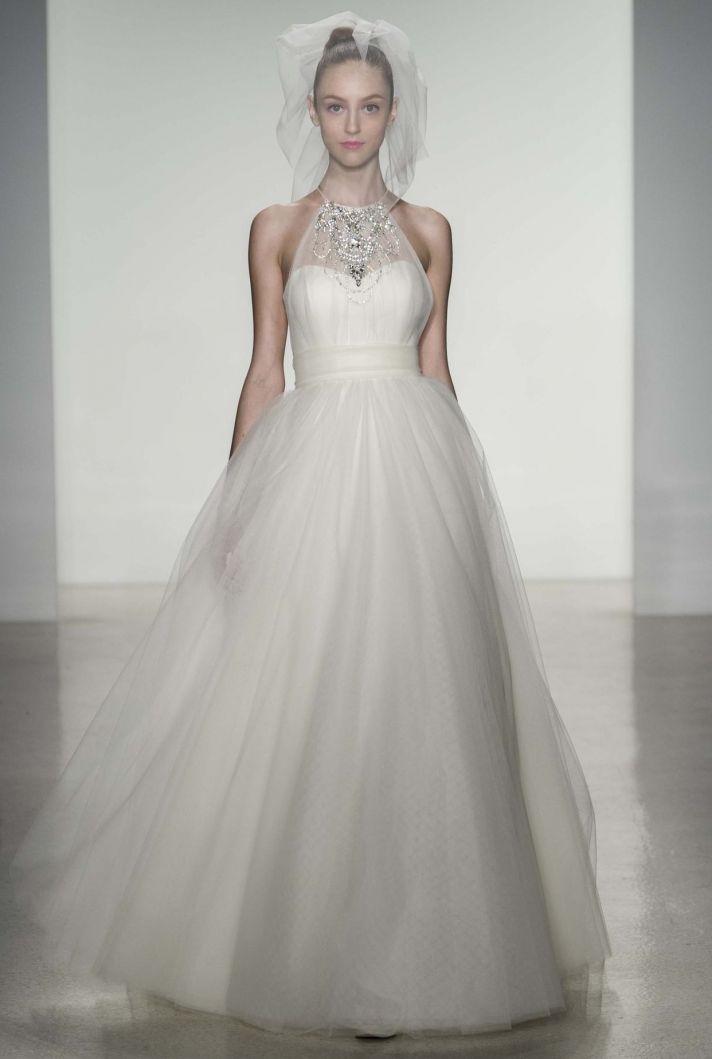 Whitney wedding dress by Amsale Fall 2014 bridal