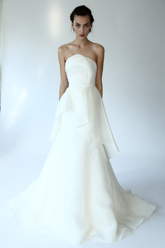 Fall 2014 Wedding Dress Trends Lela Rose Fall bridal