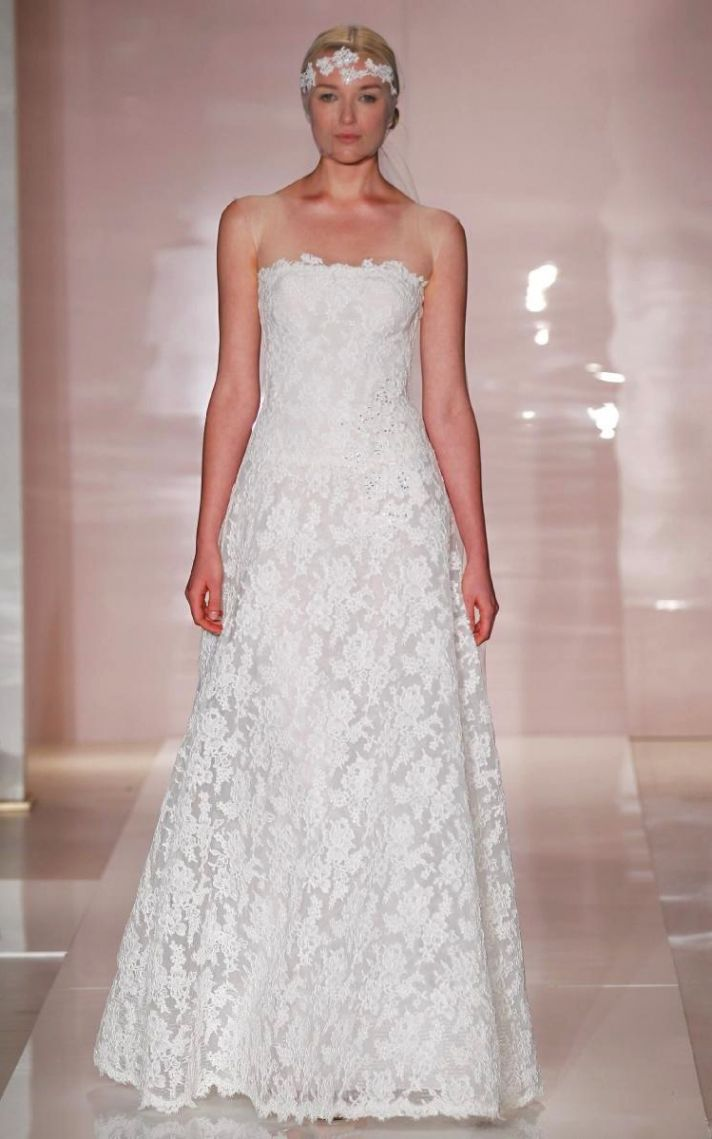 Emily wedding dress by Reem Acra Fall 2014 Bridal