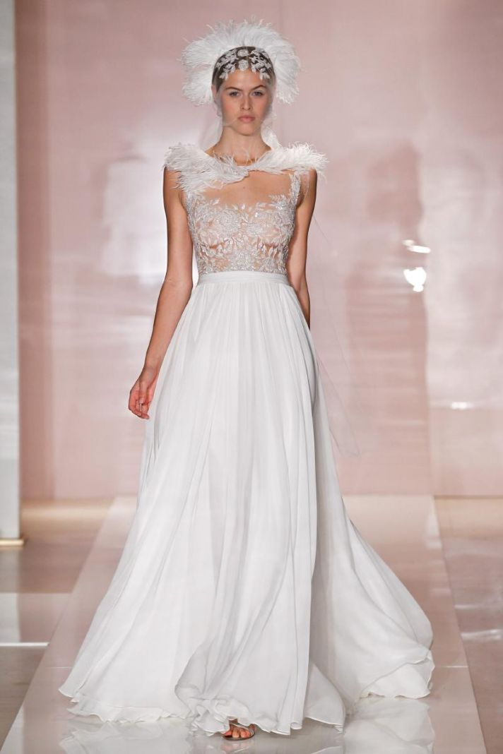 Fall Wedding Dresses For 2014 Reem Acra Fall Bridal