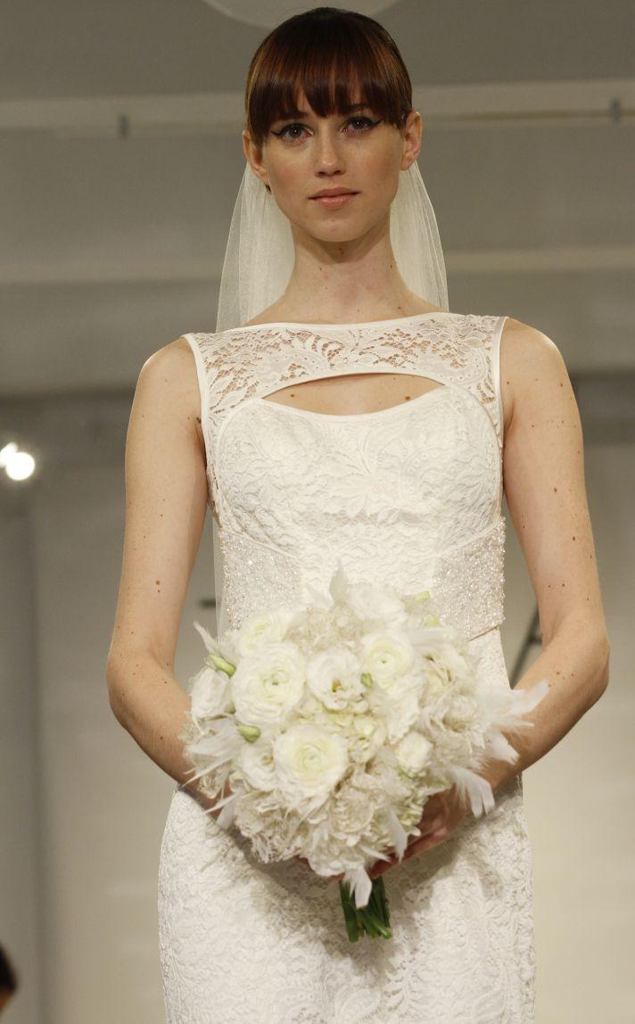 Geraldine wedding dress by Theia Fall 2014 Bridal