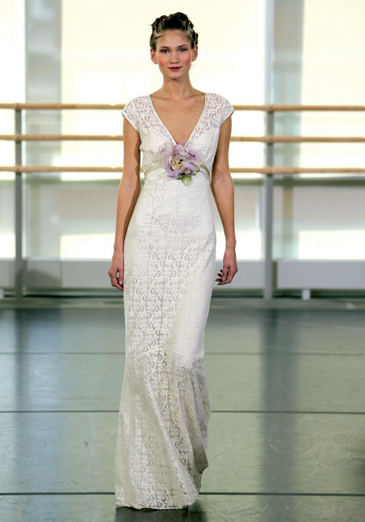 The crocheted wedding dress crochet yolanda wedding dress by claire pettibone junglespirit Images