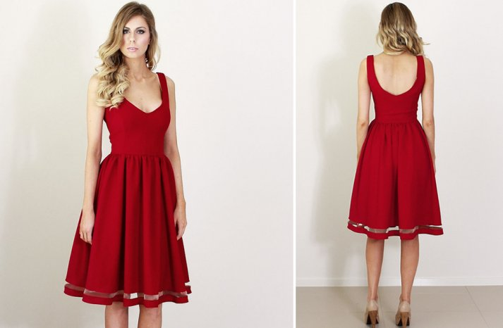 Bridesmaids style Red is the New Black 5