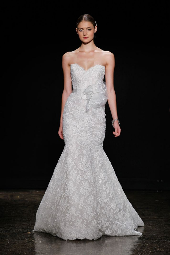 3412 wedding dress by Lazaro Spring 2014 Bridal