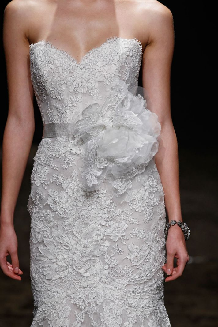3412 wedding dress by Lazaro Spring 2014 Bridal