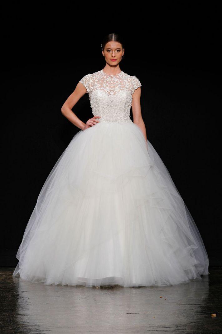 3407 wedding dress by Lazaro Spring 2014 Bridal