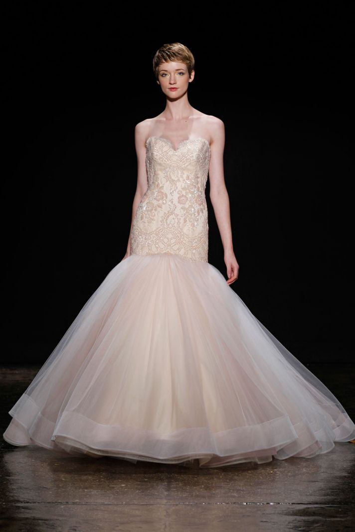 3402 wedding dress by Lazaro Spring 2014 Bridal