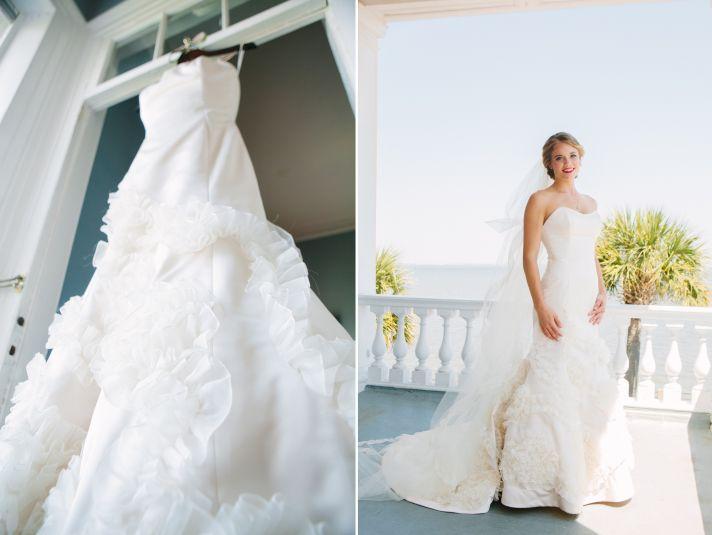 South Carolina wedding bridal portraits
