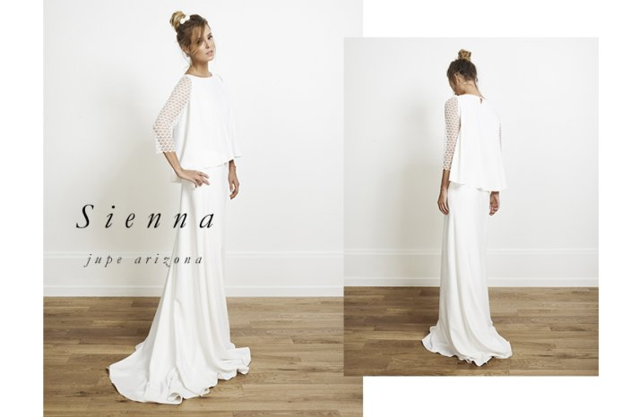 Sienna wedding dress by Rime Arodaky for Alternative Brides