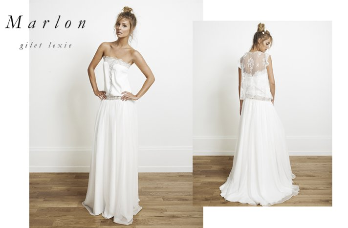 Marlon wedding dress by Rime Arodaky for Alternative Brides