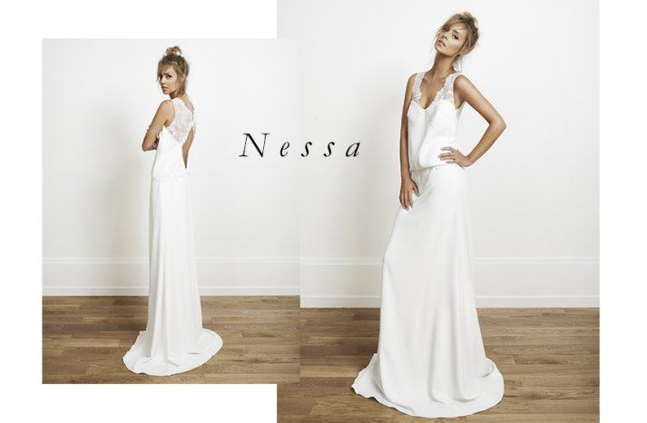 Nessa wedding dress by Rime Arodaky for Alternative Brides
