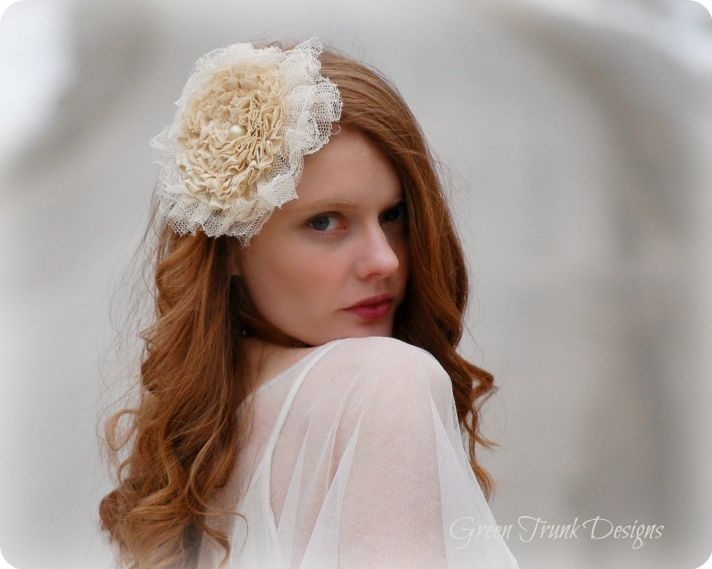 wedding head chic for December brides 10