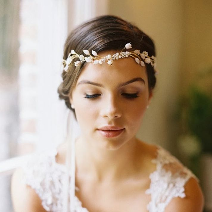 Flower Crown Circlet by Erica Elizabeth Design