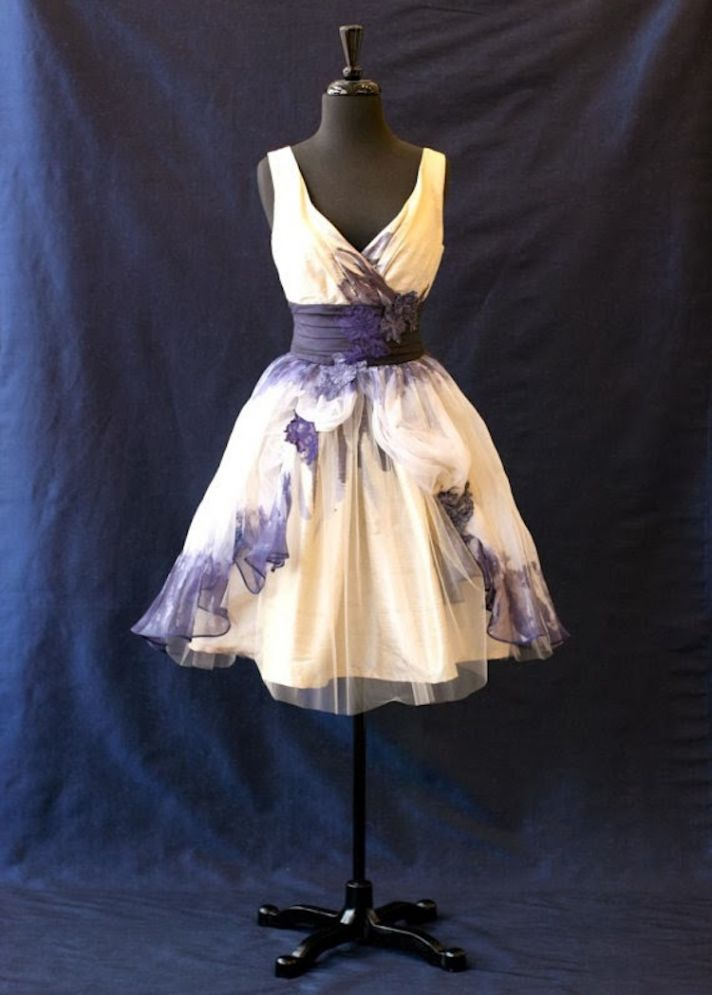 Tie Dye Dress by Cicada Bridal